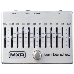 MXR Ten Band Equalizer Pedal