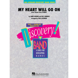My Heart Will Go On (Love Theme from Titanic) - Score & Parts, Grade 1