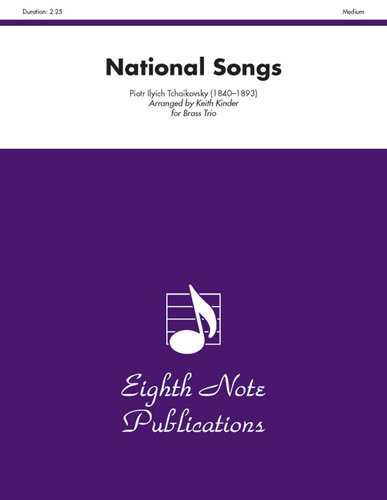 View larger image of National Songs - (Brass Trio)