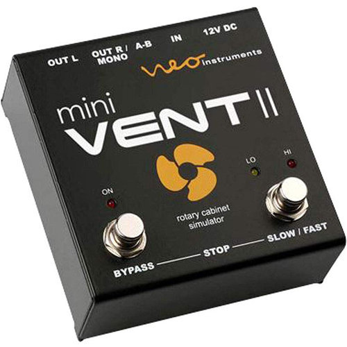 View larger image of Neo Mini Vent II Rotary Speaker Simulator Pedal