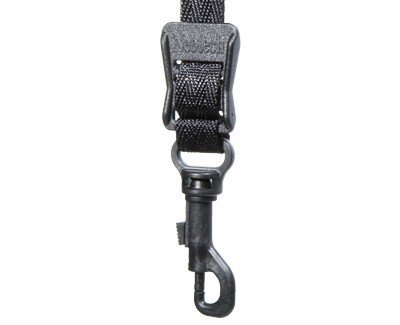 View larger image of Neotech Classic Saxophone Strap with Swivel Hook - X-Long - Black