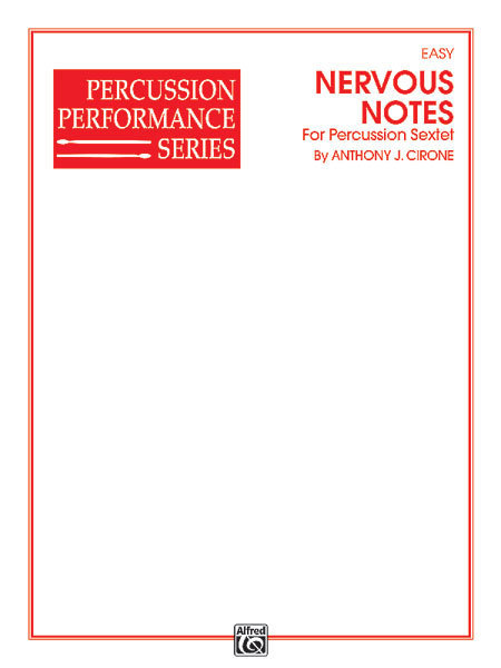 View larger image of Nervous Notes - (Percussion Sextet)