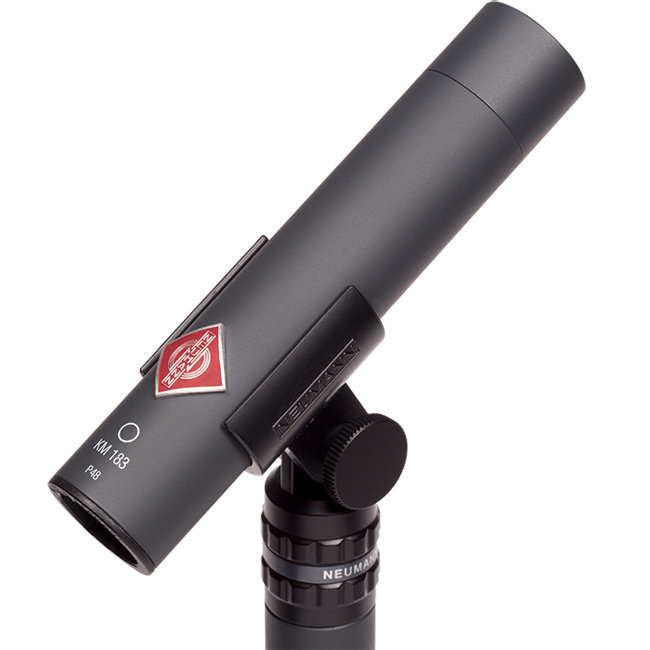 View larger image of Neumann KM 183 Small Diaphragm Condenser Microphone - Black