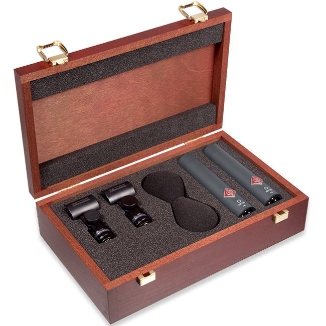 View larger image of Neumann KM 183 Stereo Set Small Diaphragm Condenser Microphone - Black