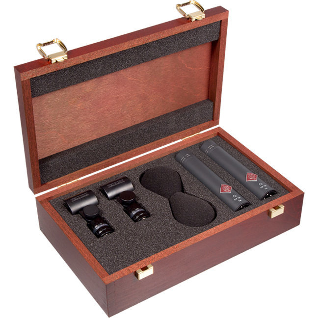 View larger image of Neumann KM 184 Stereo Set Small Diaphragm Cardioid Microphone - Black