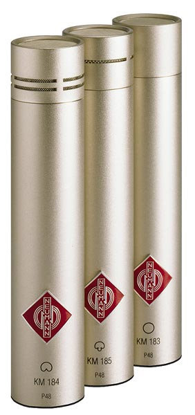 View larger image of Neumann KM 184 Stereo Set Small Diaphragm Cardioid Microphone - Nickel