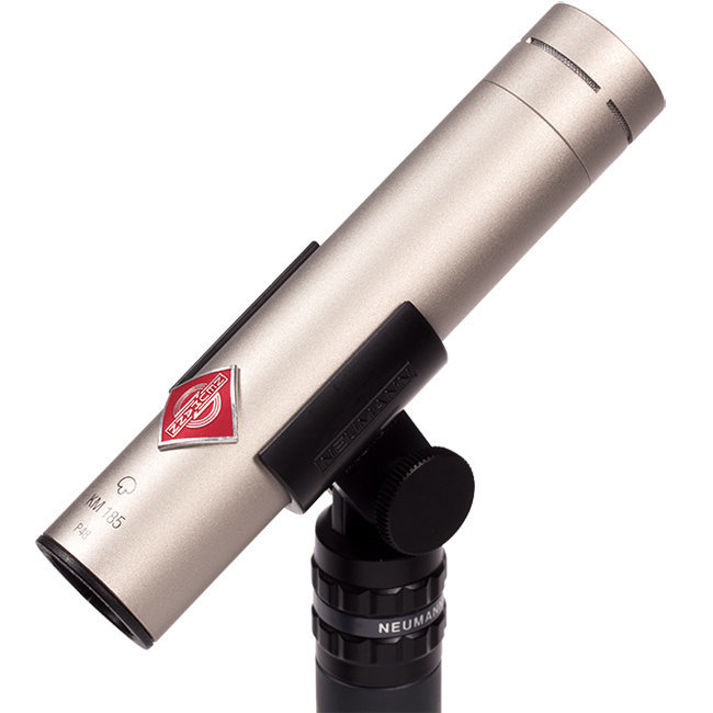View larger image of Neumann KM 185 Small Diaphragm Hypercardioid Microphone - Nickel