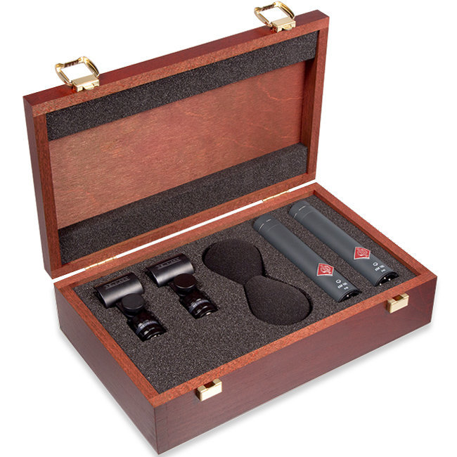 View larger image of Neumann KM 185 Stereo Set Small Diaphragm Cardioid Microphone - Black