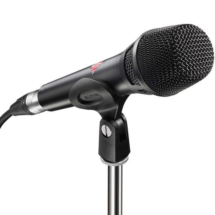 View larger image of Neumann KMS 105 Plus Handheld Cardioid Condenser Microphone - Black