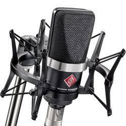 Neumann TLM 102 Studio Set - Matte Black