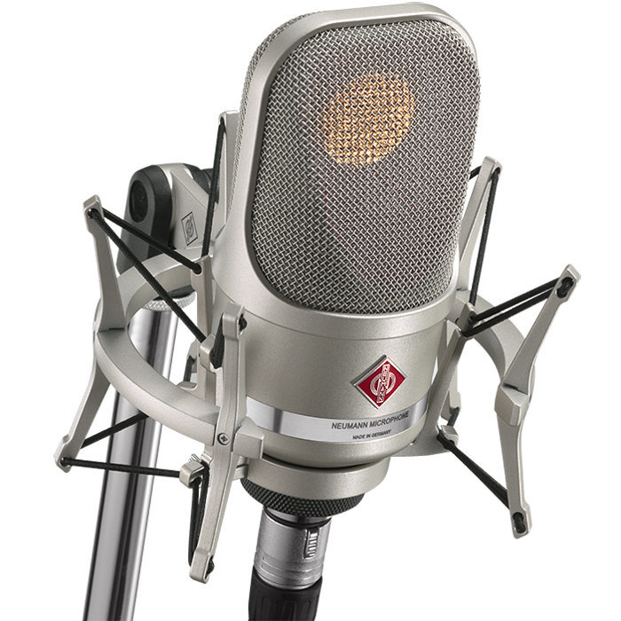 View larger image of Neumann TLM 107 Studio Set Condenser Microphone - Nickel