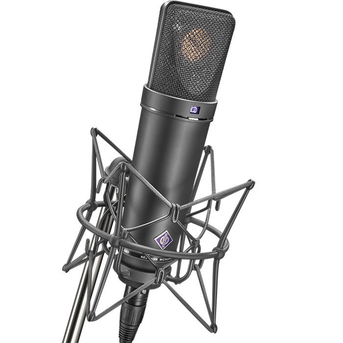 View larger image of Neumann U 87 Ai Large Diaphragm Condenser Stereo Microphone Set - Matte Black