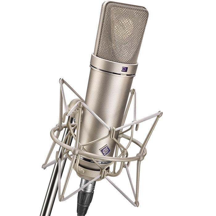 View larger image of Neumann U 87 Ai Large Diaphragm Condenser Stereo Microphone Set - Nickel