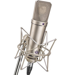 Neumann U 87 Ai Large Diaphragm Condenser Stereo Microphone Set - Nickel