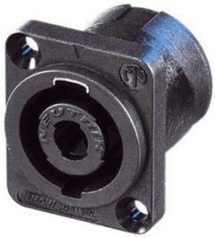 View larger image of Neutrik NL4MD-V speakON Chassis Connector - 4-Pole, D-Size, PCB Mount
