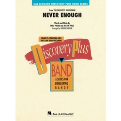 Never Enough (From The Greatest Showman) - Score & Parts, Grade 2