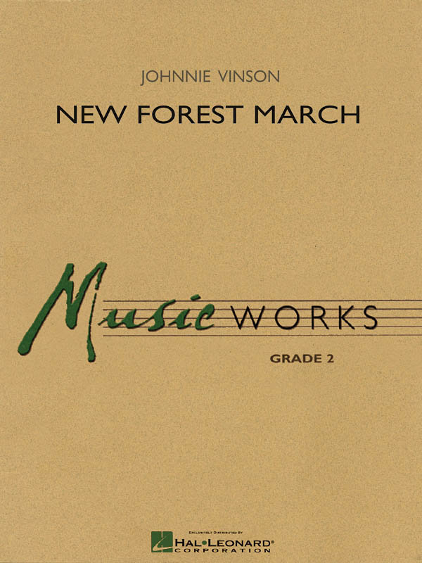 View larger image of New Forest March - Score & Parts, Grade 2