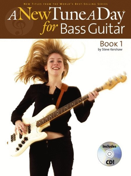 View larger image of New Tune A Day: Bass Guitar - Book 1 w/CD