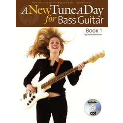 New Tune A Day: Bass Guitar - Book 1 w/CD