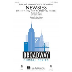 Newsies (Choral Medley from Broadway Musical), SATB Parts