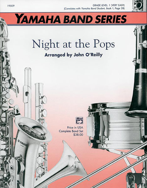 View larger image of Night at the Pops - Score & Parts, Grade 1