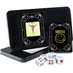 Nirvana Double Deck Playing Card Tin Set