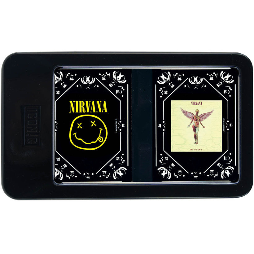 View larger image of Nirvana Double Deck Playing Card Tin Set