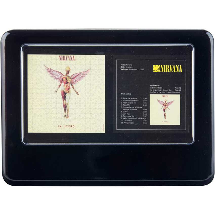 View larger image of Nirvana In Utero Puzzle Set - Set of 2
