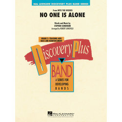 No One Is Alone (Into the Woods) - Score & Parts, Grade 2