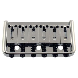 Non-Tremolo Bridge - Chrome