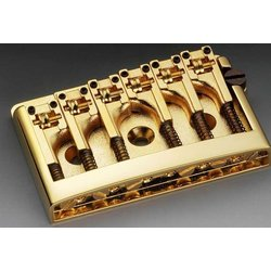 Non-Tremolo Bridge - Gold