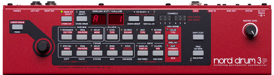View larger image of Nord Drum 3P Modeling Percussion Synthesizer