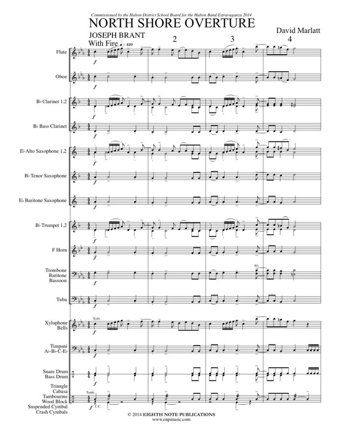 View larger image of North Shore Overture - Score & Parts, Grade 2