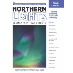 Northern Lights Elementary Piano Duets (CNCM) - (1P4H)