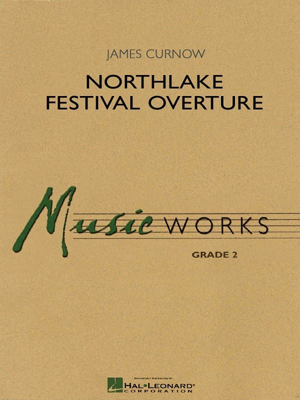 View larger image of Northlake Festival Overture - Score & Parts, Grade 2