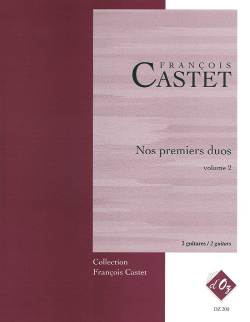 View larger image of Nos Premiers Duos, Vol.2 (Castet) - Guitar Duet