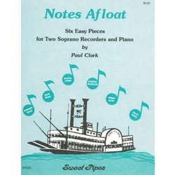 Notes Afloat - (Two Soprano Recorders & Piano)