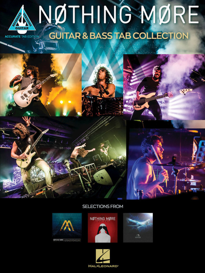 View larger image of Nothing More – Guitar & Bass Tab Collection