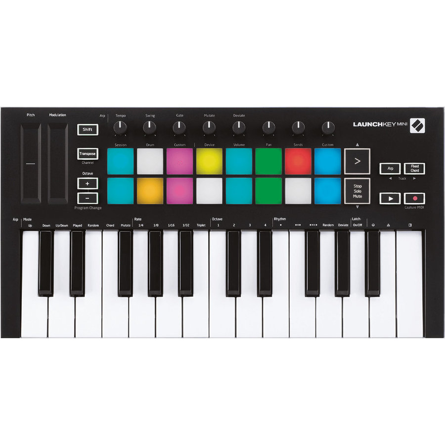 View larger image of Novation Launchkey Mini mk3 USB MIDI Controller