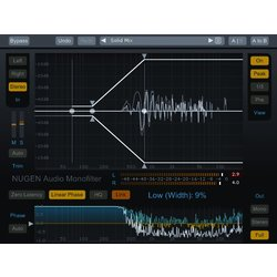 NUGEN Audio Monofilter - Sharpen anchor and solidify BASS - Digital Download