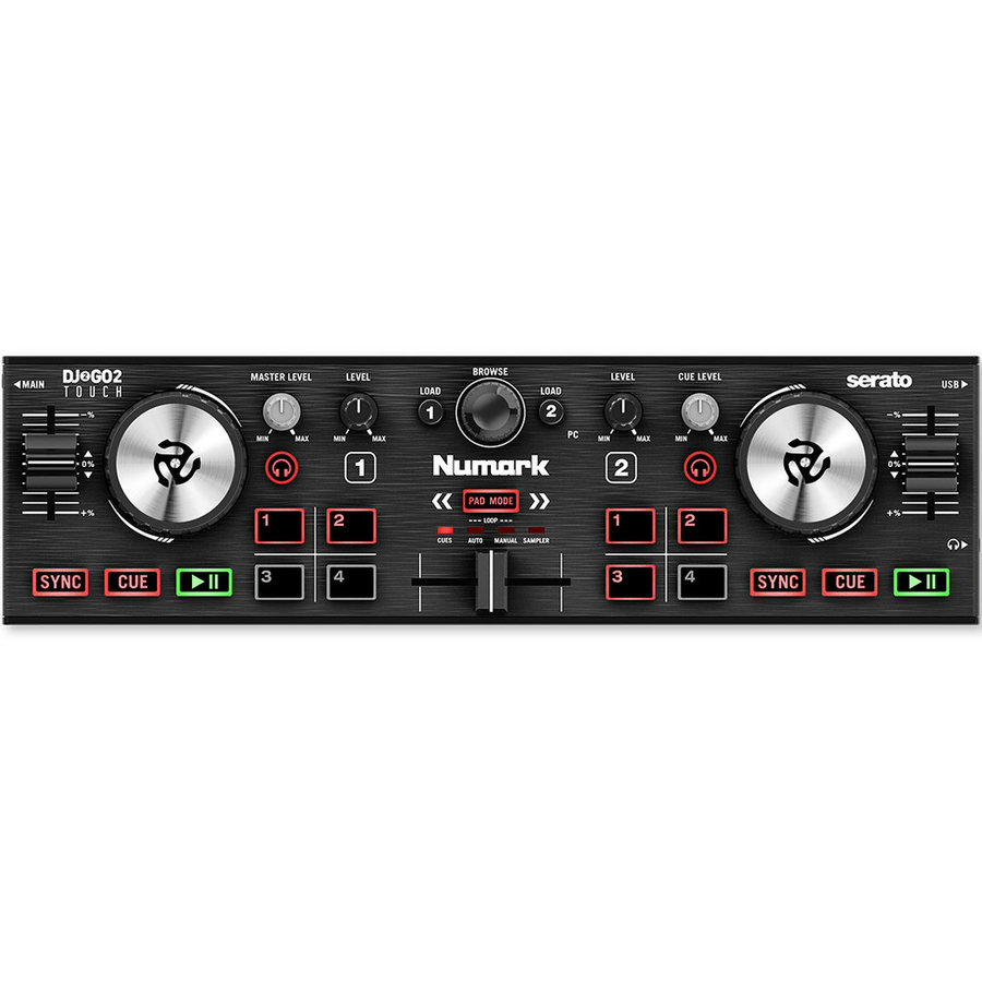 View larger image of Numark DJ2GO Touch Pocket DJ Controller