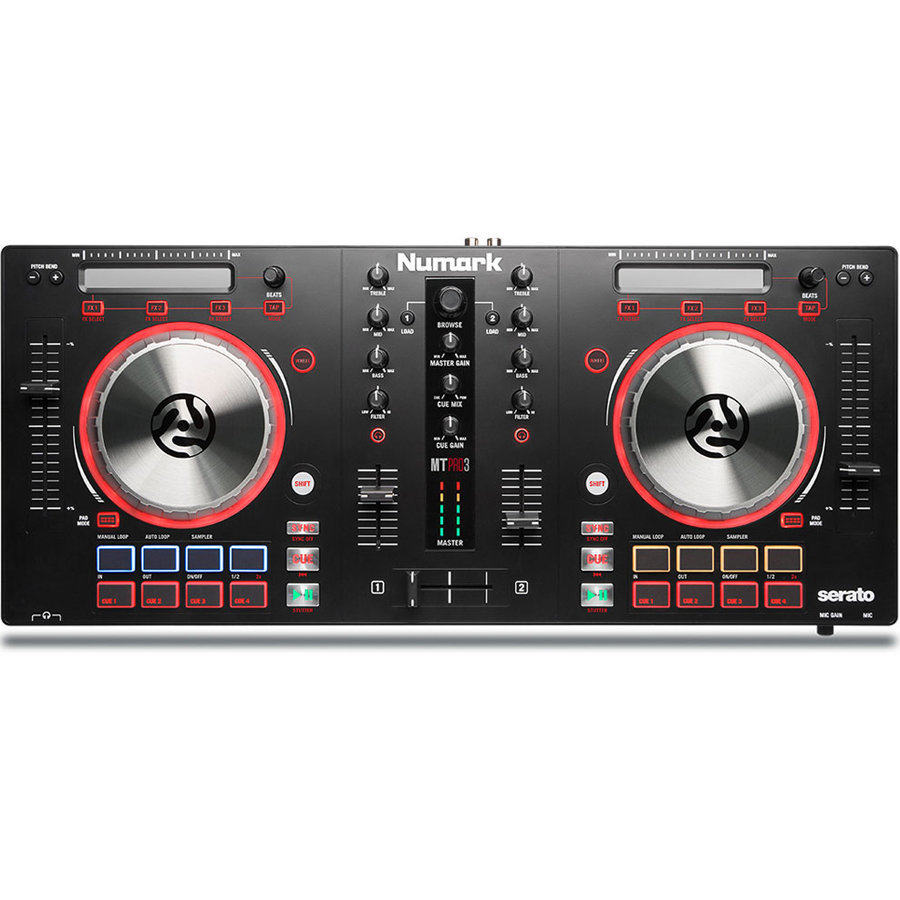 View larger image of Numark Mixtrack Pro 3 Controller for Serato DJ
