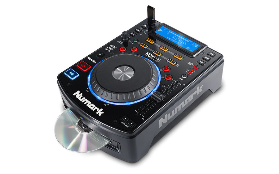 View larger image of Numark NDX500 USB/CD Media Player and Software Controller