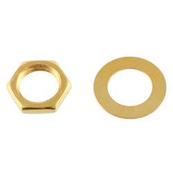 Nuts and Washers - Gold