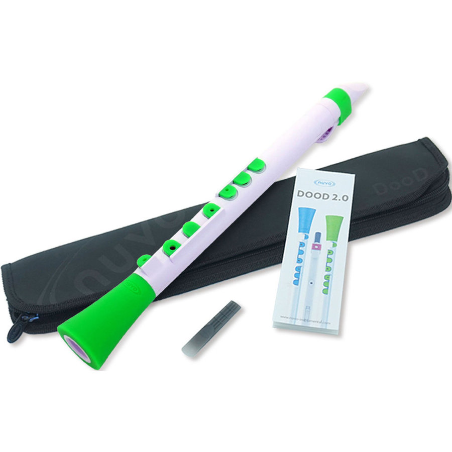 View larger image of Nuvo DooD 2.0 Clarinet - White/Green