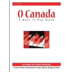 O Canada - A Duet in Pop Style - Piano Duet (1P4H)