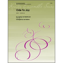 Ode To Joy - Saxophone Quartet, (AATB)
