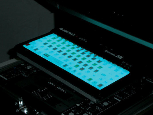 View larger image of Odyssey CONTROLSL Control SL Serato/Traktor Scratch Compacy Keyboard with Color Changing LED Backlight