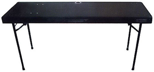View larger image of Odyssey CTB2060 60x20 Carpeted DJ Table