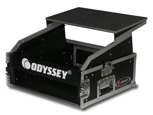 View larger image of Odyssey FRGS802 Combo Rack Flight Case with Top Gliding Platform